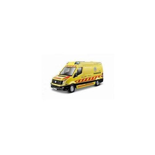 Bburago Volkswagen crafter ambulans 1:50