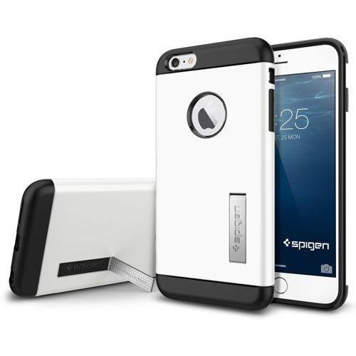 Oryginalne etui obudowa Spigen SGP Slim Armor Shimmery White dla iPhone 6 Plus 5.5