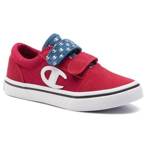 Tenisówki - 360 velcro canvas s31500-s19-rs001 red all over marki Champion