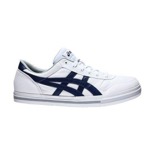 Buty asics Aaron (HN528-0151) - Biały ||Granatowy, towar z kategorii: Pozostałe obuwie męskie
