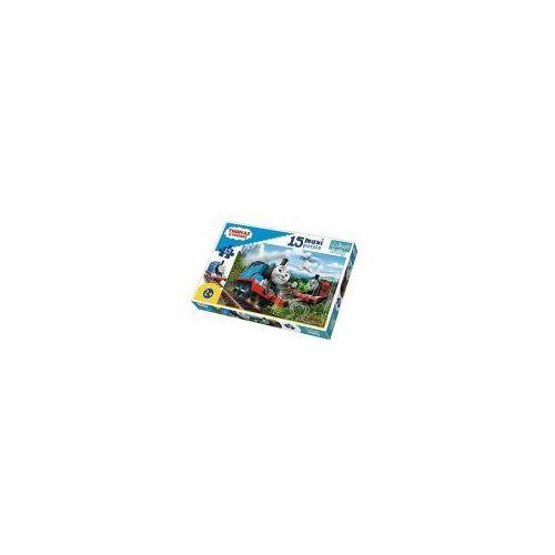 Puzzle baby 15 elementów maxi - tomek i przyjaciele, pędzące lokomotywy - poznań, hiperszybka wysyłka od 5,99zł! marki Trefl