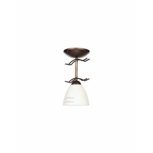 Solo lampa sufitowa 1-punktowa wenge O1701 RW, kolor Brązowy