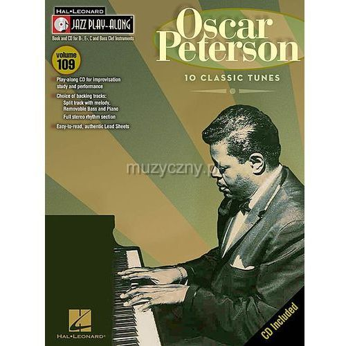 PWM Peterson Oscar - Jazz play along (utwory w transkrypcji na instrumenty w stroju Bb, Eb i C +CD)