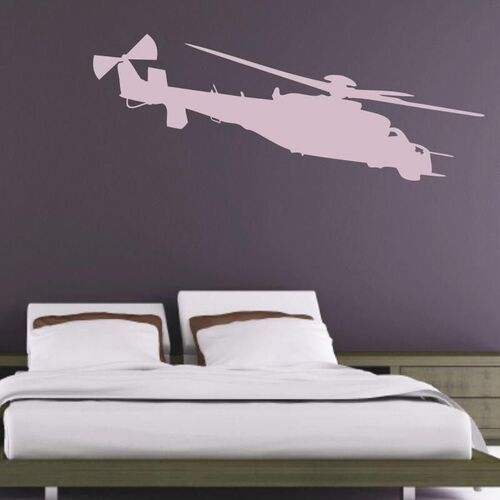 Szablon malarski helikopter 1600 marki Wally - piękno dekoracji