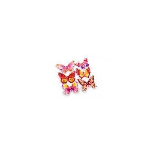 Naklejki 3d na ścianę dla dzieci motyle marki Small foot