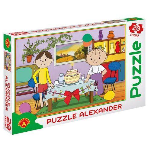 Puzzle 20 elementów maxi tort bolek i lolek marki Alexander