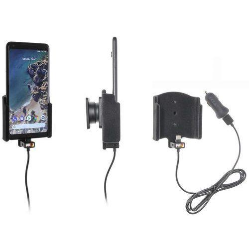 Uchwyt do Google Pixel 2 XL z wbudowanym kablem USB oraz ładowarką samochodową. (7320287210156)