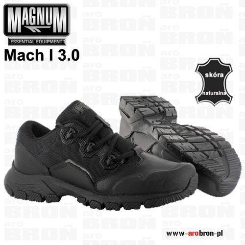 Buty niskie taktyczne MAGNUM Mach I 3.0 ASTM - połówki, czarne, dla służb mundurowych, patroli