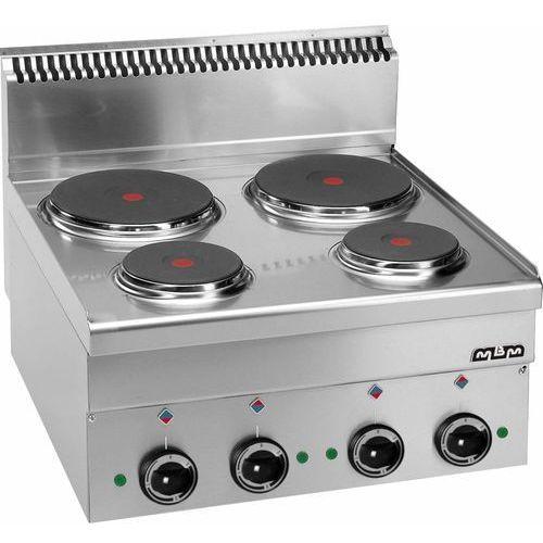 Kuchnia elektryczna nastawna 4 płytowa   8200W