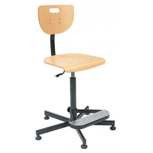 Krzesło specjalistyczne werek steel26 + foot base - obrotowe marki Nowy styl