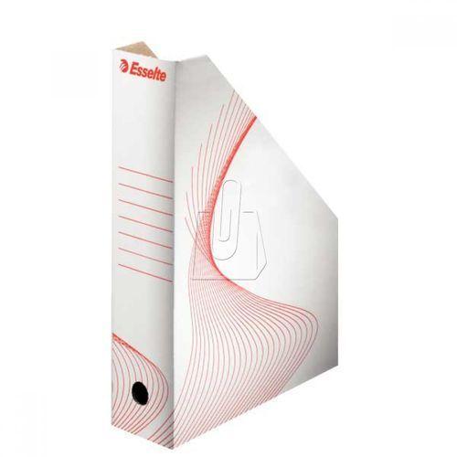 Pojemnik kartonowy ESSELTE na czasopisma biały, ES074-10