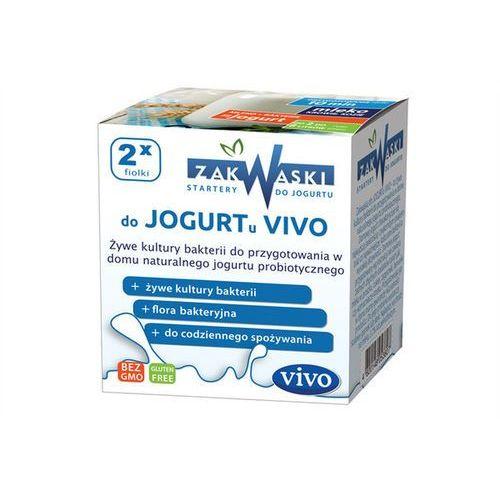Zakwaski vivo Jogurt domowy vivo żywe kultury bakterii opakowanie 2 x 0,5g