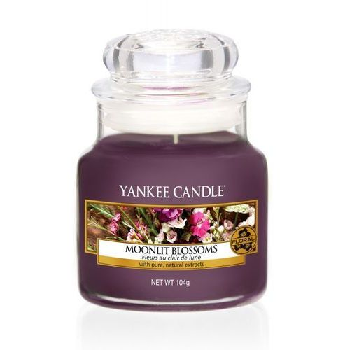 YANKEE CANDLE ŚWIECA MOOLIT BLOSSOMS 104G, 5038581063805