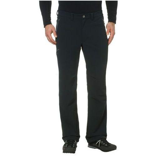 VAUDE Strathcona Spodnie długie Mężczyźni czarny 52 2018 Spodnie Softshell, kolor czarny
