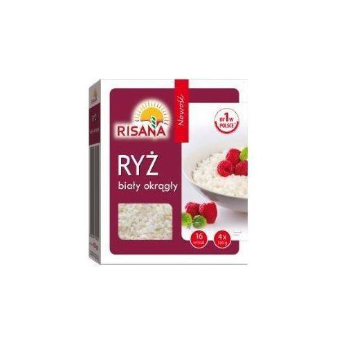 Ryż biały okrągły Risana 4x100 g