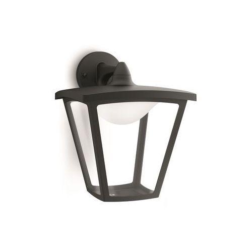 COTTAGE - Kinkiet zewnętrzny Czarny LED Wys.28,3cm, 154813016