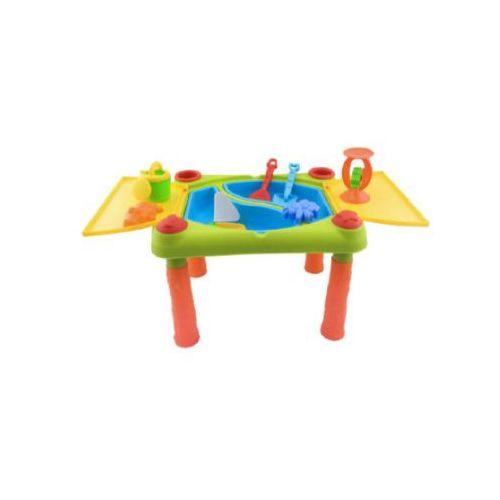 Bieco  stolik do zabawy piaskiem lub wodą.