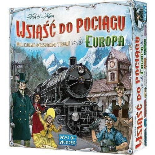 Rebel Wsiąść do pociągu: europa (0824968617021)