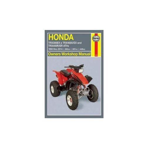 Honda TRX300EX, TRX400EX & TRX450R/ER ATVs (93 - 06) (9781620921104)