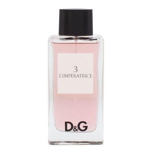Dolce&Gabbana L'imperatrice 3, woda toaletowa