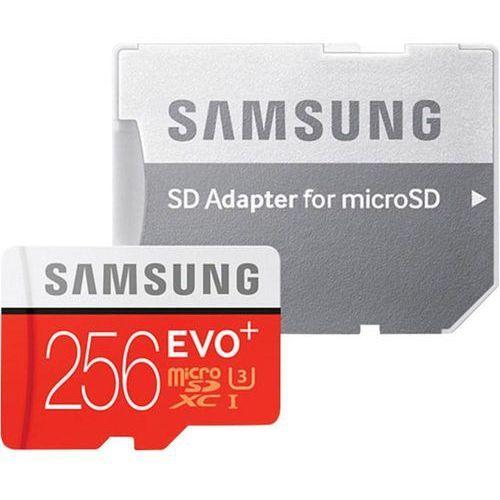 mb-mc256da/eu evo+ msd class10+adapter darmowa dostawa do 400 salonów !!, marki Samsung