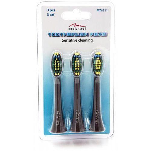 Końcówki MT6511 do szczoteczki do zębów MT6510