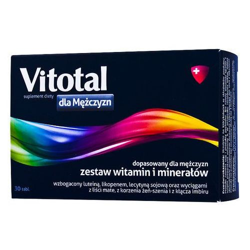 Tabletki Vitotal dla mężczyzn x 30 tabl.