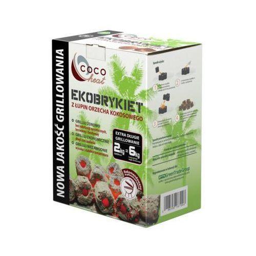 Ekobrykiet cocoheat kokosowy 2 kg marki Lotusgrill