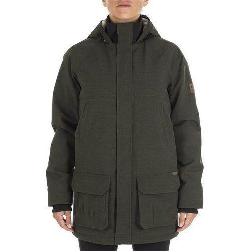 kurtka RIP CURL - Burnaby Black + NAKRČNÍK ZDARMA (0090) rozmiar: XL, kolor czarny