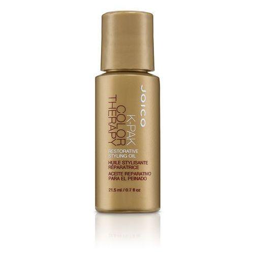 Joico K-Pak Color Therapy Restorative Oil - olejek wzmacniający włosy 21,5ml