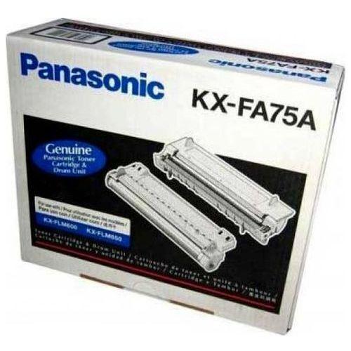 Wyprzedaż oryginał toner kx-fa75 kx-fa75a kx-fa75x kx-flm600 marki Panasonic