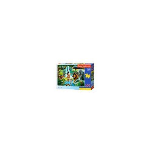 Puzzle 100 elementów - księga jungli - poznań, hiperszybka wysyłka od 5,99zł! marki Castor