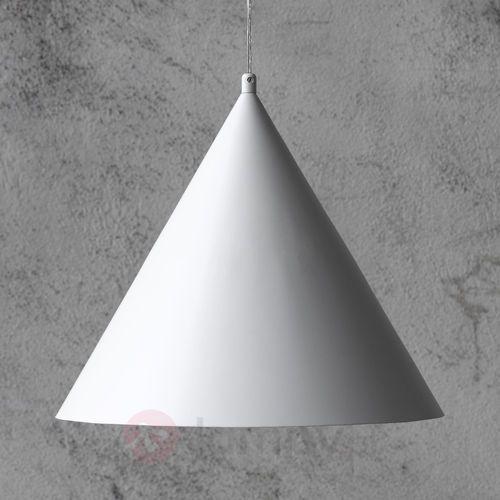 Bas 105285 lampa wisząca fi 40 stożek biała marki Markslojd