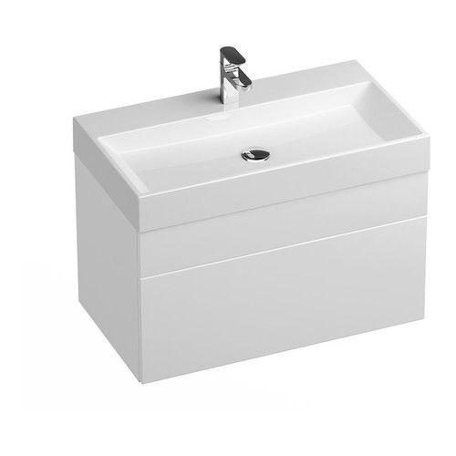 Ravak Szafka podumywalkowa SD Natural 80 cm biała połysk X000001052