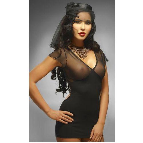 Lady in black seksowna minisukienka