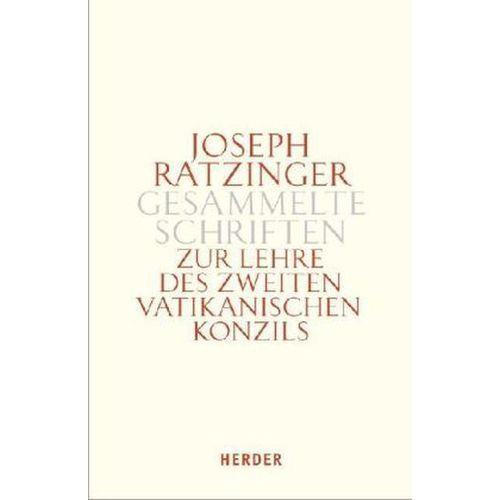 Zur Lehre des Zweiten Vatikanischen Konzils. Tlbd.1 Ratzinger, Joseph (9783451341243)