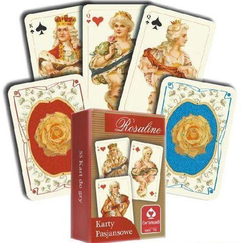 Karty pasjansowe. Rosaline 1x55 listków