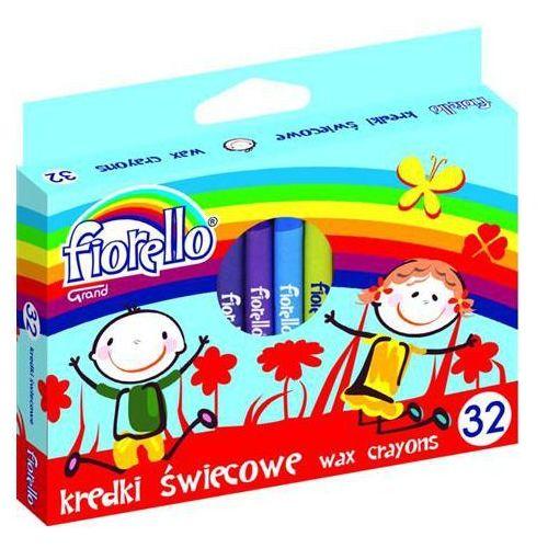 Kredki świecowe 32 kolory FIORELLO (5903364244859)
