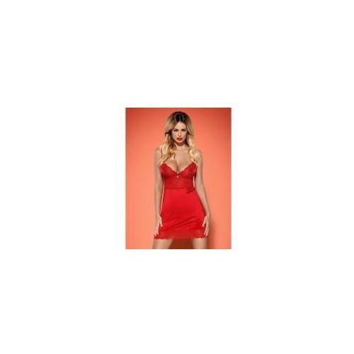 Koszulka Obsessive Lovica czerwona, kolor czerwony