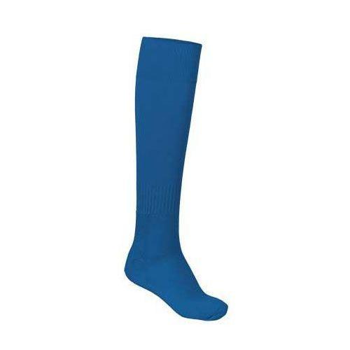Skarpety sportowe podkolanówki getry piłkarskie VALENTO KRAMER niebieski-royal-blue 43-46
