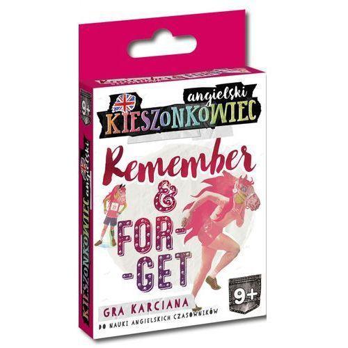 Edgard Kieszonkowiec angielski: remember & forget - . darmowa dostawa do kiosku ruchu od 24,99zł (9788377887905)