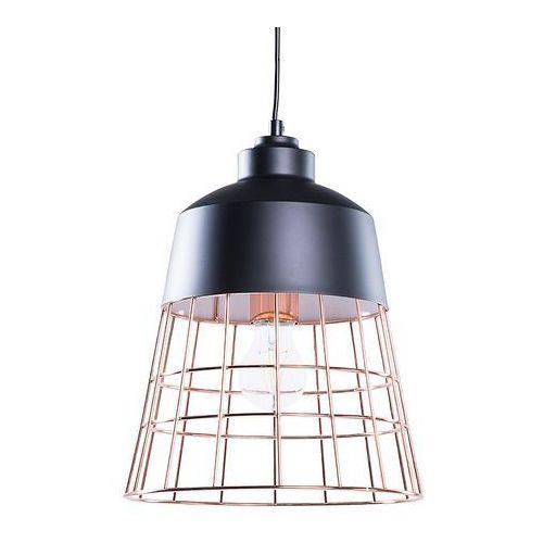 Lampa czarna - sufitowa - żyrandol - lampa wisząca - MONTE (7105274775876)