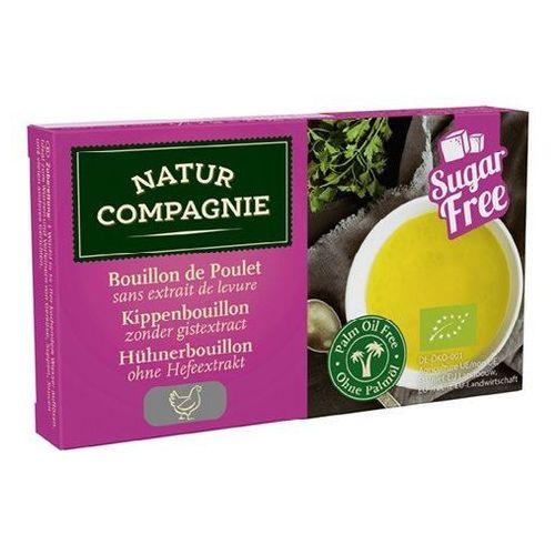 Natur compagnie (buliony, kostki rosołowe) Bulion - kostki drobiowe bez dodatku cukrów bio 80 g - natur compagnie