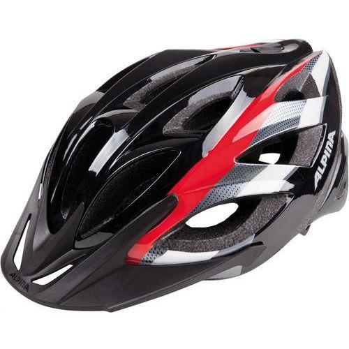 Alpina Seheos Kask rowerowy czarny 51-56cm 2018 Kaski rowerowe