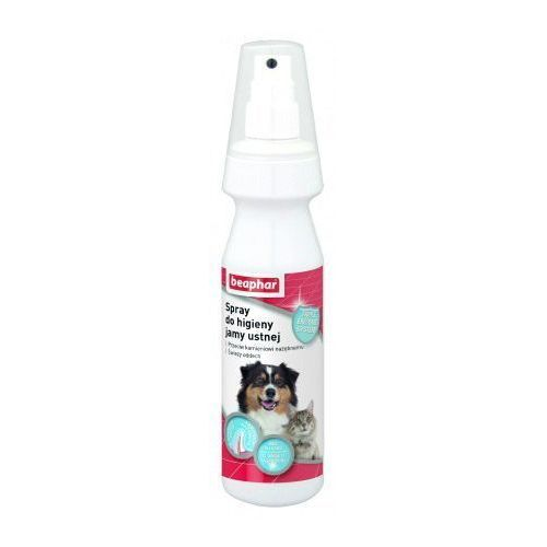 Beaphar Odświeżacz oddechu w spreju dla psa i kota 150ml