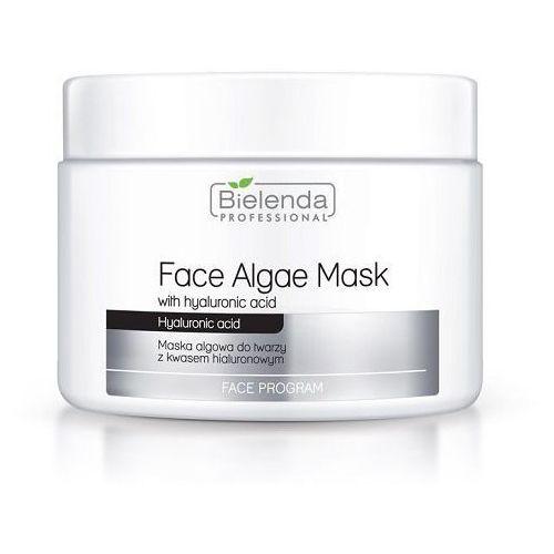 zastrzym młodośći maska algowa z kwasem hialuronowym - uzupełnienie 190g marki Bielenda