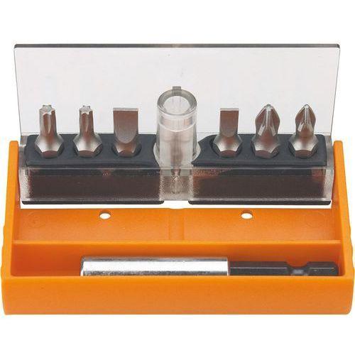 Zestaw końcówek wkrętakowych NEO 06-101 z uchwytem (7 elementów)