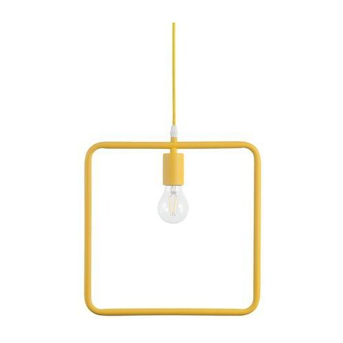 Beliani Lampa wisząca żółta lerma