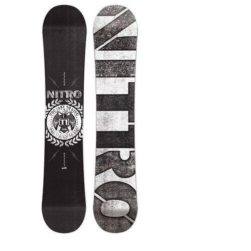 Nowa deska snowboard  t1 156w -50%ceny wyprodukowany przez Nitro