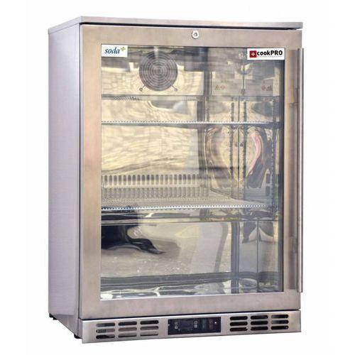 Chłodziarka podblatowa pojedyncza | 120L | 160W | 600x530x(H)835mm